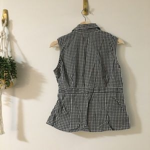Christopher & Banks Tops - Gingham Top